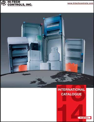Hensel Catalog Enclosures | PDF | Hi-Tech Controls