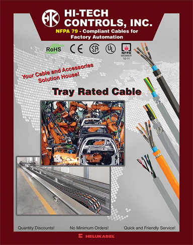 NFPA 79-Compliant Cables for Factory Automation - Tray Rated Cable Catalog | PDF | Hi-Tech Controls