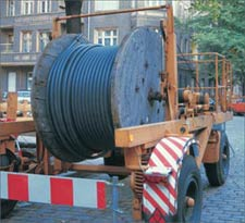 As supplier of underground cables, telephone cables for indoor and outdoor lying, as well as fire warning cables European provides for a short term delivery-readiness. Modern and powerful cutting machines ensure even the demands for fixed lengths within a short term processing. Hi-Tech Controls, European