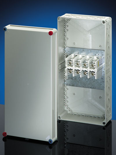 Indoor Cable Junction Box With 4 Pole Terminals